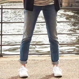 LUCKY BRAND denim boyfriend blue jeans size 4